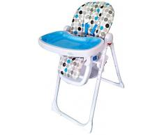 Bebe Style HL62BLUE Chaise Haute Inclinable Multi Fonction