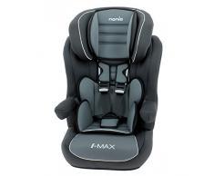 Siège Auto I-Max Isofix, Groupe 1/2/3 (de 9 à 36 kg), NANIA Agora Gris