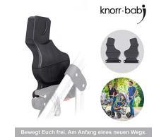 Knorr-Baby 35094 Adaptateur pour système coulissant - Classico, Voletto, noxxte, VW carbone pour siège auto Maxi Cosi et Cybex