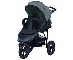 knorr-baby Joggy S Poussette trois roues « Happy Colour » avec capote pour dormir
