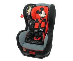 Mycarsit Siège Auto Disney, Groupe 0+/1 (de 0 à 18 kg), Motif Mickey