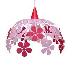 R&M Coudert Lampe Suspension Enfant Bouquet de Fleurs Rose
