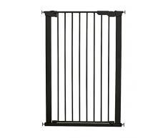 Noir 75-82cm DREAMBABY Barriere de S/écurit/é Liberty