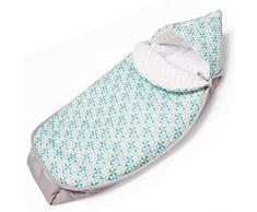 Sevira Kids - Chancelière universelle et imperméable - nid dange pour la poussette ou siège auto 0-24 mois - Windy Mill 2.0