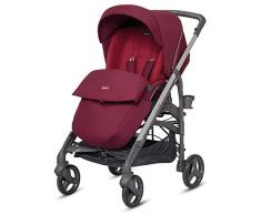 Inglesina ag37j6rbr Poussette réversible, Ruby Red