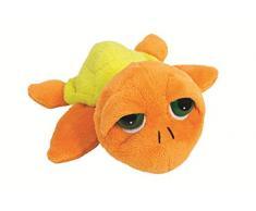 Suki Gifts Li l Peepers Tropical Leia Tortues Tortue Boa doux en peluche (Orange/jaune)