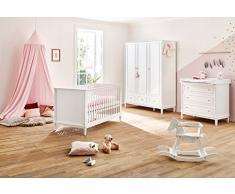 Pinolino 103402BG Chambre Hope pour Bébé Blanc Taille L