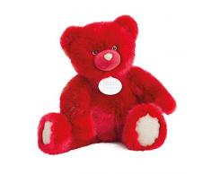 Doudou et Compagnie Ours Collection Peluche Rubis 60 cm