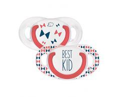 bébé confort Rebel Rules Best Kid Set de 2 Sucettes Natural Physio en Silicone 6/18 Mois