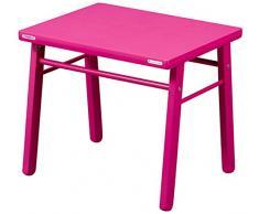 Combelle Table pour Enfant Laquée Fushia