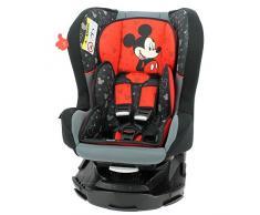 Mycarsit Siège Auto 360° Disney, Groupe 0+/1 (de 0 à 18 kg), Motif Mickey