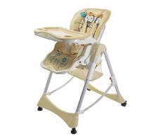 Aziamor AZ55-BEI Chaise haute Prima Pappa Beige