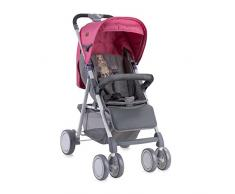 Lorelli Aero Canne Poussette avec Couvre Jambe Rose