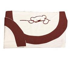 babyline 001018021 – Parure de lit de voiture, Unisexe, Couleur Chocolat