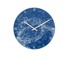 NeXtime 8814 Milky Way Horloge Verre Bleu
