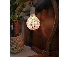 Girard Sudron Ampoule MOSAÏQUE Florale Globe LED