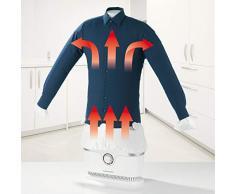 Cleanmaxx 00384 – planchadora pour chemise et chemisier, sèche linge automatique, 1800 W
