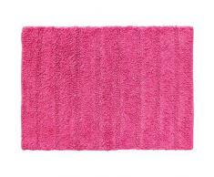 douceur dintérieur tapis de bain 50x70 cm coton essencia fuchsia