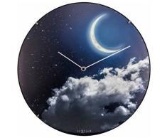 NeXtime 3177.0 New Moon Dome Horloge Plastique Phosphorescent 35 x 35 x 5 cm