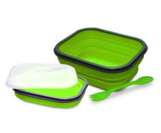 Baumalu 450130 Lunch Box Silicone 1 Compartiment Vert