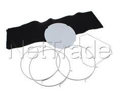 Whirlpool AMC 035 Filtre accessoire pour hotte de poêle – Accessoire pour cheminée (Filtre, Whirlpool : AKR 809 MR, AKR 994 IX Bauknecht : DST 6460 ES, DST 5490 IN PT, 1 pièce)