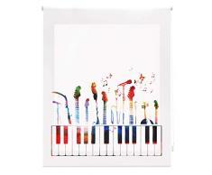 Blindecor Store Enrouleur translucide 90X180 Multicolore