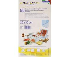 Magic Vac aco1024Â Lot de 50Â sacs pour aspirateur, 20Â x 30Â cm