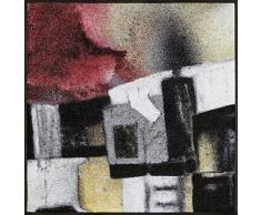 Wash+Dry 087120 Amore Paillasson, Acrylique, Multicolore, 85 x 85 x 0,7 cm
