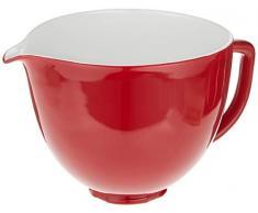 KitchenAid bol en céramique rouge empire 5KSM2CB5ER compatible avec robots patissiers 4.3L et 4.8L
