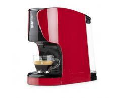 Bialetti Opera - Machine à café expresso pour capsules en aluminium Bialetti il Caffè dItalia rouge