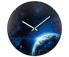 NeXtime 3176.0 Globe Dome Horloge Plastique Phosphorescent 35 x 35 x 5 cm
