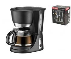Trisa Electronics Passion 6 Machine à café, 550 W, 0.6 liters, Noir