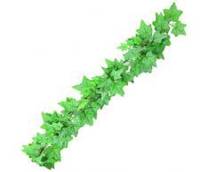 Europalms 61216 Plante de Décoration Ivy Guirlande Vert 180 cm