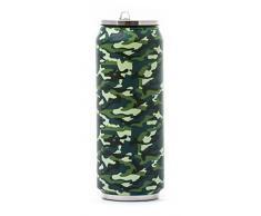 YOKO DESIGN 1486 Canette Isotherme 500 ml, Acier Inoxydable, Camouflage, 19 x 7 x 7 cm