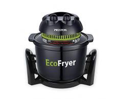 PRIXTON - Electrique Friteuse sans huile à air chaud, capacité de 5 litres, fonctions multiples: poignée, cuisson au four et gril, barbecue et vapeur   ECO100 Ecofryer