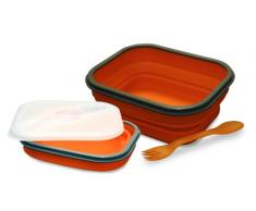 Baumalu 450131 Lunch Box Silicone 1 Compartiment Orange