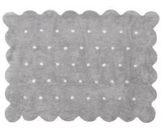 Aratextil Cookie Tapis enfant, coton, gris, 120Â x 160Â cm