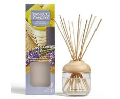 Yankee Candle Brins Diffuseurs, Citron Lavande, 120ml, Jusquà 10Semaines de Parfum