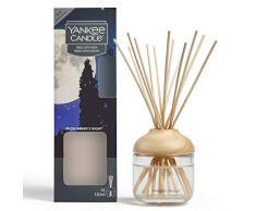 Yankee Candle Brins Diffuseurs, Nuit dété, 120ml, Jusquà 10Semaines de Parfum