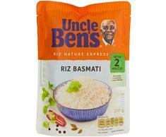 Uncle Bens Riz Basmati Cuisson 2 Minute Pochon 250 g