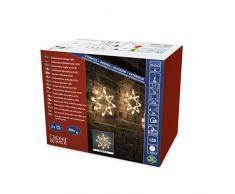 Konstsmide 4448-103 Rideau Lumineux à LED, Plastique, 3 W, Multicolore, 700 x 1 x 1 cm