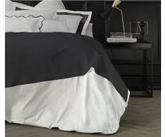 Suite 2603 by Adolfo Carrara Studio Design Drap supérieur, 100% Coton, lit, 39x 26x 4cm 39x26x4 cm Roccia
