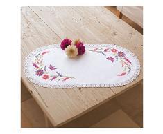 Groves + Banks PN-0012838 Broderie Napperon Fleurs Toile Multicolore 60 x 2 x 30 cm