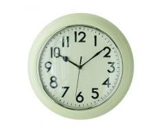 Premier Housewares Horloge murale Crème