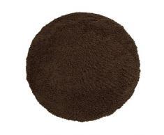 Just Contempo Tapis à poils longs, beige, 120x 170cm, marron, 133 x 133 cm