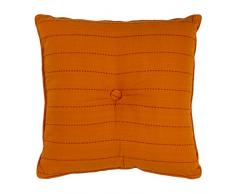 38 x 38 x 3 cm Polyester Thedecofactory 400034 Coussin Rouge