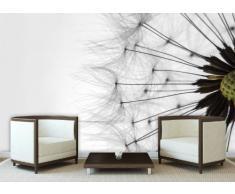 Delester Design Décor mural Papier peint intissé vinyle - gros plan de fleur de pissenlit