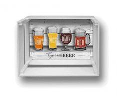 Décoration murale étagère Shelf Box 30 x 40 cm H.20 types Beer