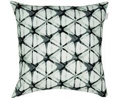 Esprit Home 70135-002-45-45 Housse de coussin décoratif kuug électronique, 45 x 45 cm, blanc/noir