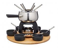 Kitchen Craft Master Class Artesa Appareil à Fondue pour 6 Personnes en Acier Inoxydable